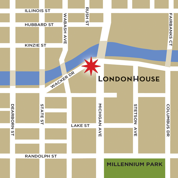 London house map